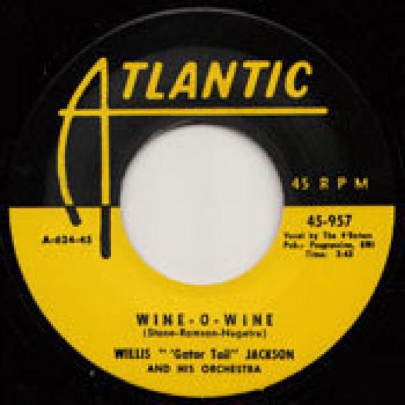 "WILLIS 'GATOR TAIL' JACKSON ""WINE-O-WINE"" / OSCAR (BIG BLUES) BLACK ""LOVE LOVE LOVE"" 7"""