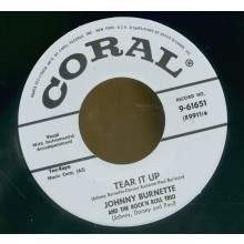 "Johnny Burnette Trio ""Tear It Up / Oh Baby Babe"" 7"""