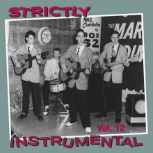 STRICTLY INSTRUMENTAL Vol. 12 cd (Buffalo Bop)