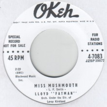 "LLOYD FATMAN ""MISS MUSHMOUTH / GOOD GRACIOUS"" 7"""