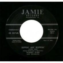 "ROBERT BYRD ""BIPPIN' AN' BOPPIN/STRAWBERRY STOMP"" 7"""