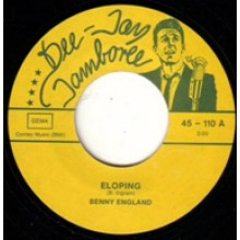 "BENNY ENGLAND ""Elopin'/ Some How"" 7"""