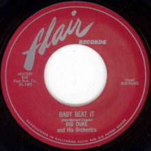 "BIG DUKE (HENDERSON) ""BABY BEAT IT / BEGGIN' & PLEADIN"" 7"""