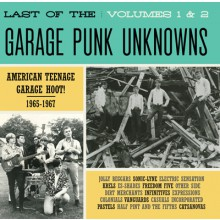 LAST OF THE GARAGE PUNK UNKNOWNS 1 + 2 CD