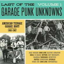 LAST OF THE GARAGE PUNK UNKNOWNS 1 LP