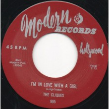 "CLIQUES ""I'M IN LOVE WITH A GIRL / My Desire"" 7"""
