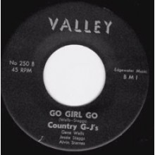"COUNTRY G-J'S ""GO GIRL GO/BEFORE THE WAR"" 7"""
