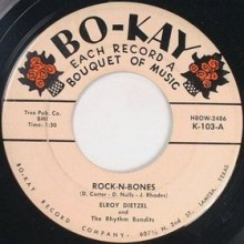 "ELROY DIETZEL ""Rockin' Bones/Shang-Hai Rock"" 7"""