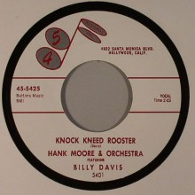 """HANK MOORE & ORCHESTRA """"KNOCK KNEED ROOSTER / SOUR MASH"""" 7"""""""