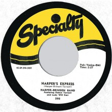 "HARPER BRINSON BAND ""HARPER'S EXPRESS / HARPERS RETURN"" 7"""