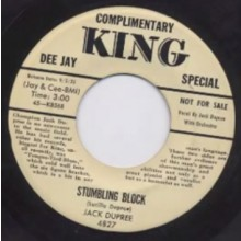"JACK DUPREE ""STUMBLING BLOCK/THAT'S MY PA"""