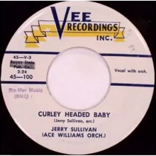 "JERRY SULLIVAN ""CURLEY HEADED BABY/Ella Mae"" 7"""