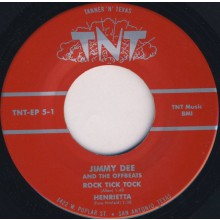 "Jimmy Dee & The Offbeats ""Rock Tick Tock"" 7"" EP"
