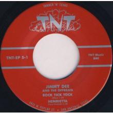 "Jimmy Dee & The Offbeats ""Rock Tick Tock"" 7"" EP"