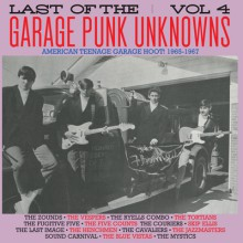 LAST OF THE GARAGE PUNK UNKNOWNS 4 LP