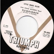 "LITTLE MARIE ALLEN ""REAL HUMDINGER"" 7"""