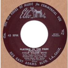 "PHILLIP WALKER ""HELLO MY DARLING/ PLAYING IN THE PARK"" 7"""