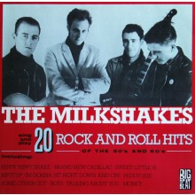 "MILKSHAKES ""20 Rock And Roll Hits Of The 50's And 60's"" LP"