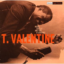 "T. VALENTINE ""HELLO LUCILLE Are You A Lesbian?"" CD"