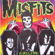 """MISFITS """"EVILIVE"""" CD"""
