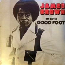 "JAMES BROWN ""GET ON THE GOOD FOOT double LP"