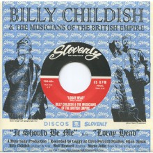 "BILLY CHILDISH & MOTBE ""IT SHOULD BE ME"" 7"""
