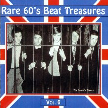 RARE 60'S BEAT TREASURES VOL.6 CD