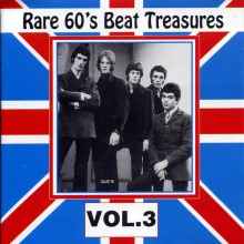 RARE 60'S BEAT TREASURES VOLUME THREE cd