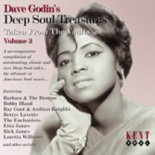DAVE GODIN'S DEEP SOUL TREASURES 3 CD