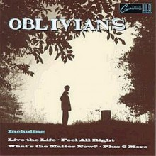"OBLIVIANS ""PLAY 9 SONGS W/ MR.QUINTRON"" CD"