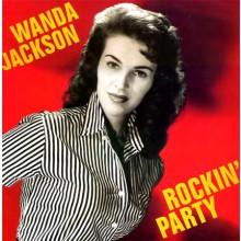 "WANDA JACKSON ""ROCKIN' PARTY"" LP"