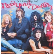 "NEW YORK DOLLS ""I'M A HUMAN BEING"" CD"