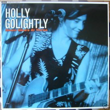 "HOLLY GOLIGHTLY ""DOWN AT GINA'S AT THREE"" LP"