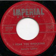 "SMILEY LEWIS ""BUMPITY BUMP / SHE'S ME HOOK, LINE & SINKER"" 7"""