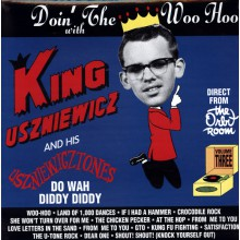 "KING USZNIEWICZ ""Doin'the Woo Hoo"" Volume 3 lp"