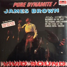 "JAMES BROWN ""PURE DYNAMITE! LIVE AT THE ROYAL"" LP"