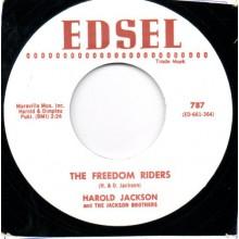 "Harold Jackson & The Jackson Brothers ""The Freedom Riders/Travelin'"" 7"""