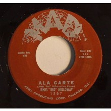 "James ""Red"" Holloway ""A La Carte/Simple Steps"" 7"""