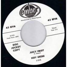 "RUDY GREENE ""JUICY FRUIT/WILD LIFE"" 7"""