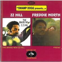 ZZ HILL / FREDDIE NORTH CD
