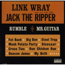 "LINK WRAY & HIS RAY MEN ""JACK THE RIPPER"" LP"