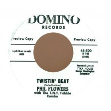 "PHIL FLOWERS ""TWISTIN BEAT/MOVE ON"" 7"""