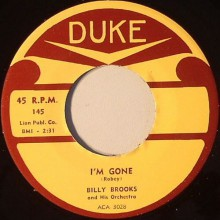 "ROSCO GORDON ""TUMMER TEE"" / BILLY BROOKS ""I'M GONE"" 7"""