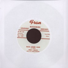 "Percy Welch ‎""Back Door Man/Nursery Rhyme Rock"" 7"""
