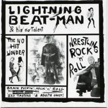 "LIGHTNING BEAT-MAN ""WRESTLING R'N'R"" LP"