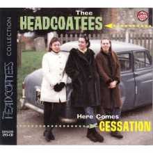 "HEADCOATEES ""Here Comes Cessation"" CD"