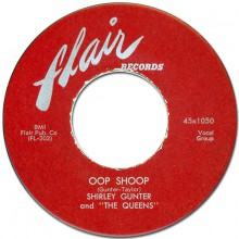 "SHIRLEY GUNTER ""OOP SHOOP / IT'S YOU"" 7"""