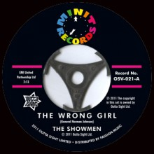 "Showmen ""The Wrong Girl/ Fate Planned It This Way"" 7"""