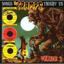 SONGS THE CRAMPS TAUGHT US VOL 3 CD