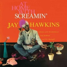 "SCREAMIN' JAY HAWKINS ""AT HOME WITH"" LP"